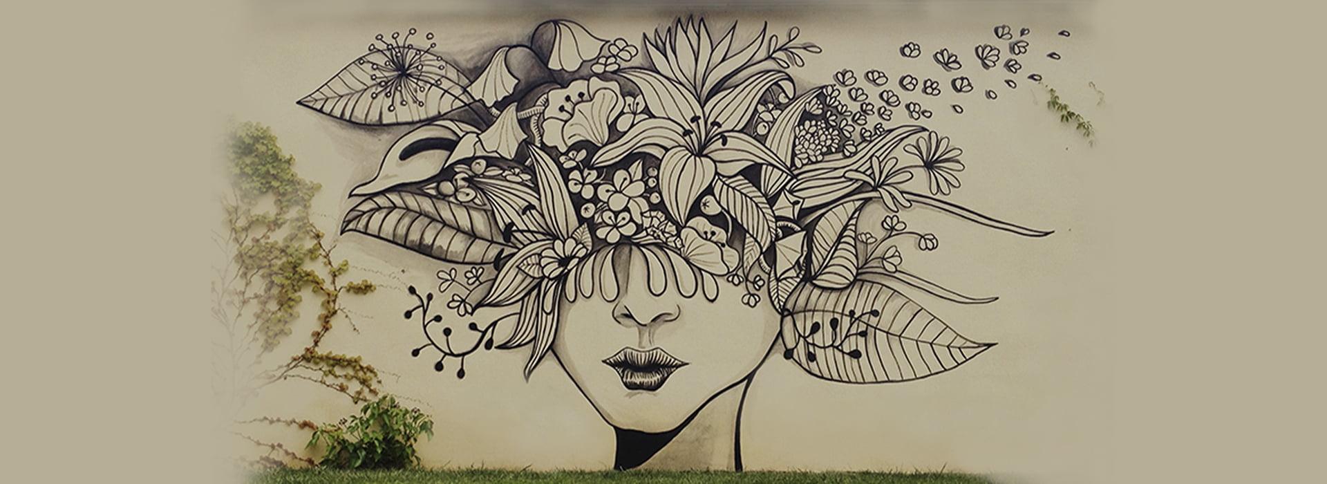 mural elegante relajante